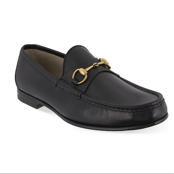 1d461895418 Gucci Shoes - GUCCI 👞 ROOS HORSEBIT LEATHER LOAFER